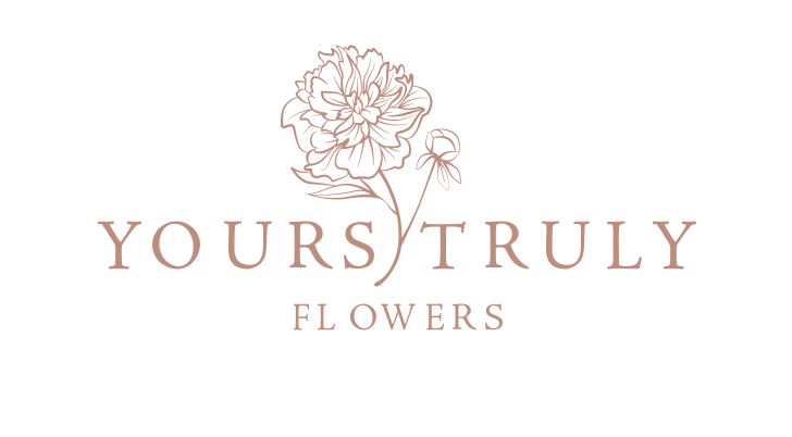 Yours Truly Flowers logo